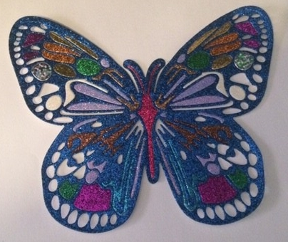 butterfly Elizabeth craft
