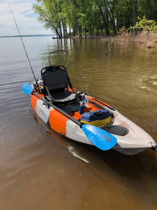 steve kayak, june 14